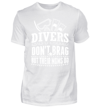 Diving Diver Shirt Don't Brag