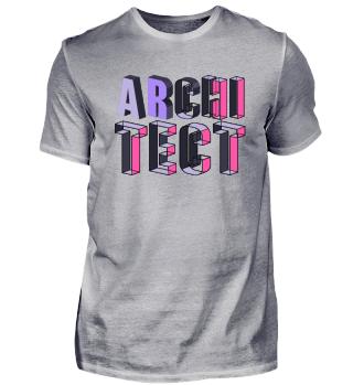 Architekt Beruf Logo Schrift Wort