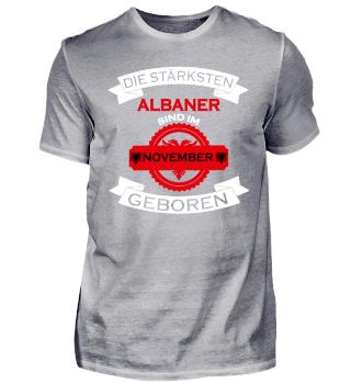 Die stärksten Albaner November