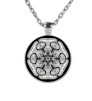 Mandala Halskette