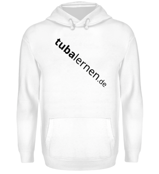 tubalernen.de Pulli Logo schwarz