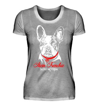 Französische Bulldogge - Herz