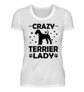 Crazy Terrier Lady