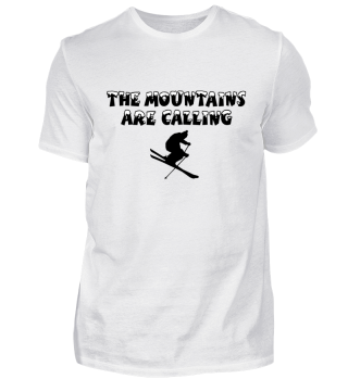 Mountains Calling Ski T-Shirts