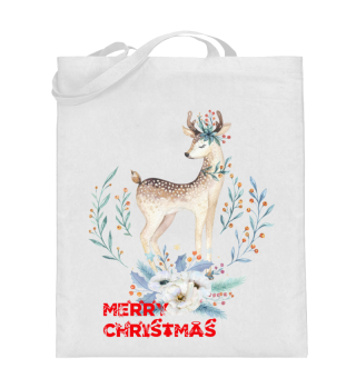 ☛ MERRY CHRISTMAS · DEER #8B