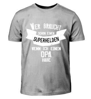 Opa ist mein Superheld T-Shirt