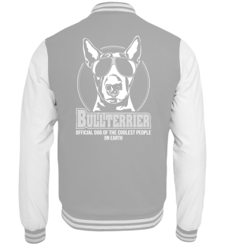 Collegejacke BULLTERRIER coolest people