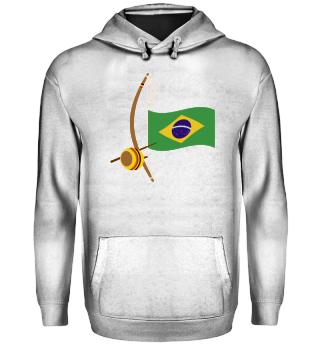 ★ Capoeira Berimbau Brazilian Flag 4
