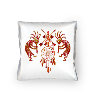 Kokopelli Dreamcatcher Ornaments II