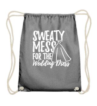 Funny Workout Shirt for Women Wedding