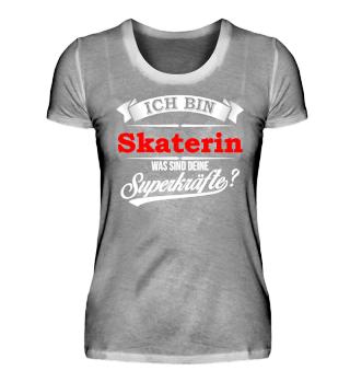 Skaterin Skateboarderin Superkräfte
