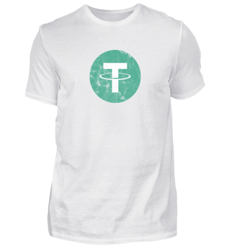 Tether T-Shirt (USDT) - Logo Used Look