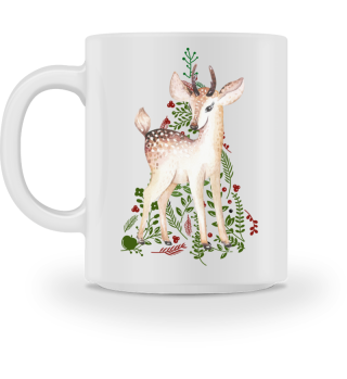 ♥ MERRY CHRISTMAS · DEER #7AT
