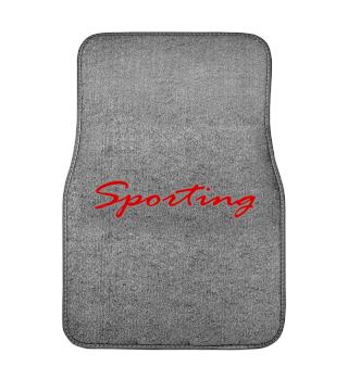 Sporting Automatte für Tuning