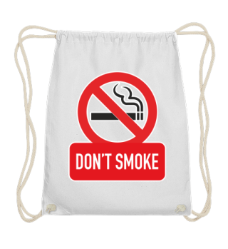 DON'T SMOKE sign I