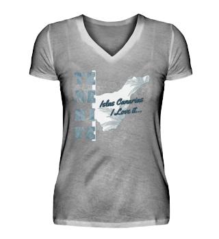 T-Shirt V Ausschnitt / Tenerife