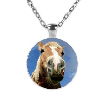 Pferd Halskette