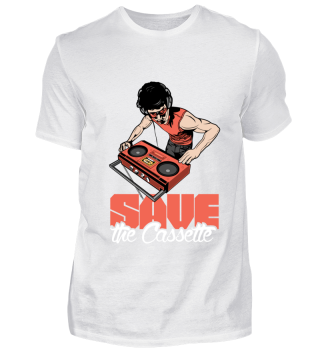 Mens Shirts- Save the Cassette