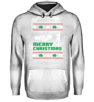 Running Runner Shirt Merry Christmas