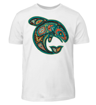 ★ Native American Totem Orca Whale 6