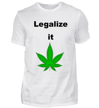 Weed legalize it statement