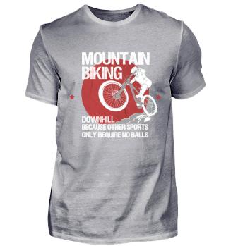 Mountainbike MTB Biking Downhill