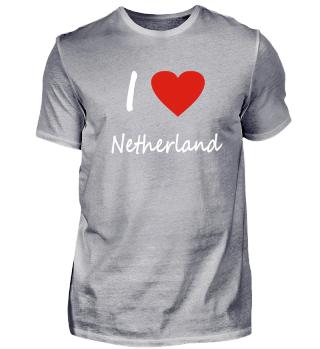 I love NetherlandGeschenk Idee