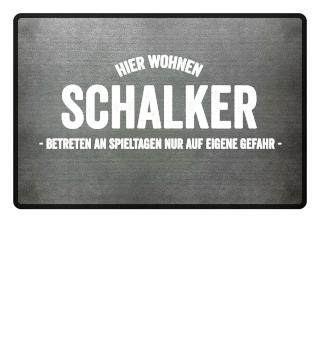 Hier wohnen Schalker..