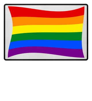 Gay Pride Rainbow Flag Fussmatte 2