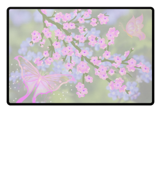♥ Cherry Blossom Branch Butterflies 1