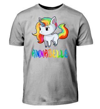 Annabelle Unicorn Kids T-Shirt