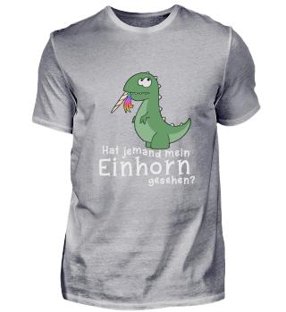 Dino frisst Einhorn T-Rex Geschenk