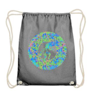 Kokopelli Flower Mandala III