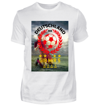 FUSSBALL SHIRT · GIB MIR FÜNF #4.5
