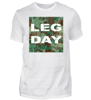 Fitness Leg Day Camouflage