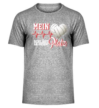 Volleyball Herz