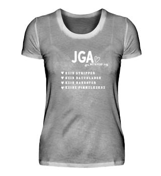 JGA Anti Shirt Niveau Polterabend