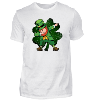 St Patricks Day Dabbing Leprechaun