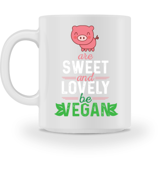 Pigs are sweet and lovely - be VEGAN