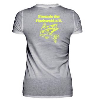 Damen T-Shirt Freunde der Fischwaid e.V.