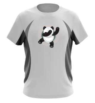 Funny Panda Dabbing Animal Tee