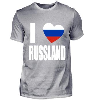 I Love Russland T-Shirt