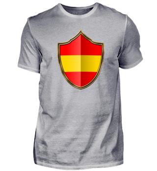 Spanien-Spain Wappen Flagge 016