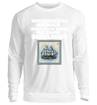 Segler-Segeln-Segelboot-T-Shirt