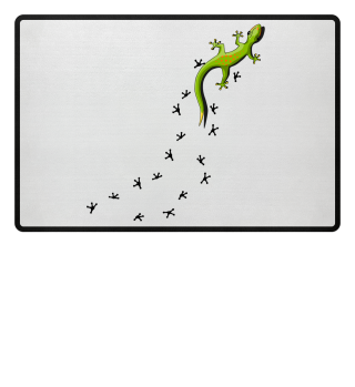 Gecko Fußmatte