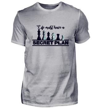 Schach Spiel Fans dein Geheimer Plan