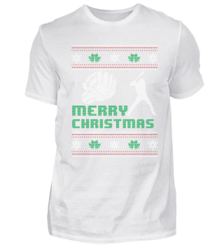 Funny Baseball Shirt Merry Christmas