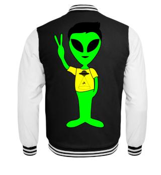 Peace Alien - hypocritical Isn't it?