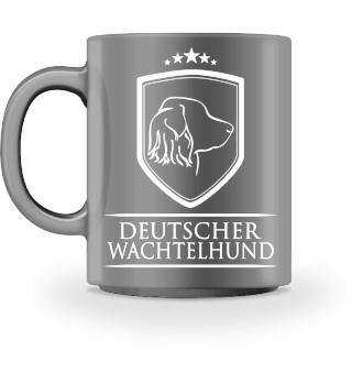 Tasse DEUTSCHER WACHTELHUND Wappen Hund