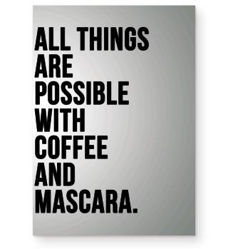 Kaffee Coffee Spruch Poster Geschenk